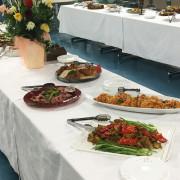 労働組合懇親会パーティー料理