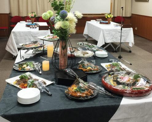 学会用のパーティー料理