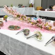 学長主催 卒業生代表との懇親会パーティー料理