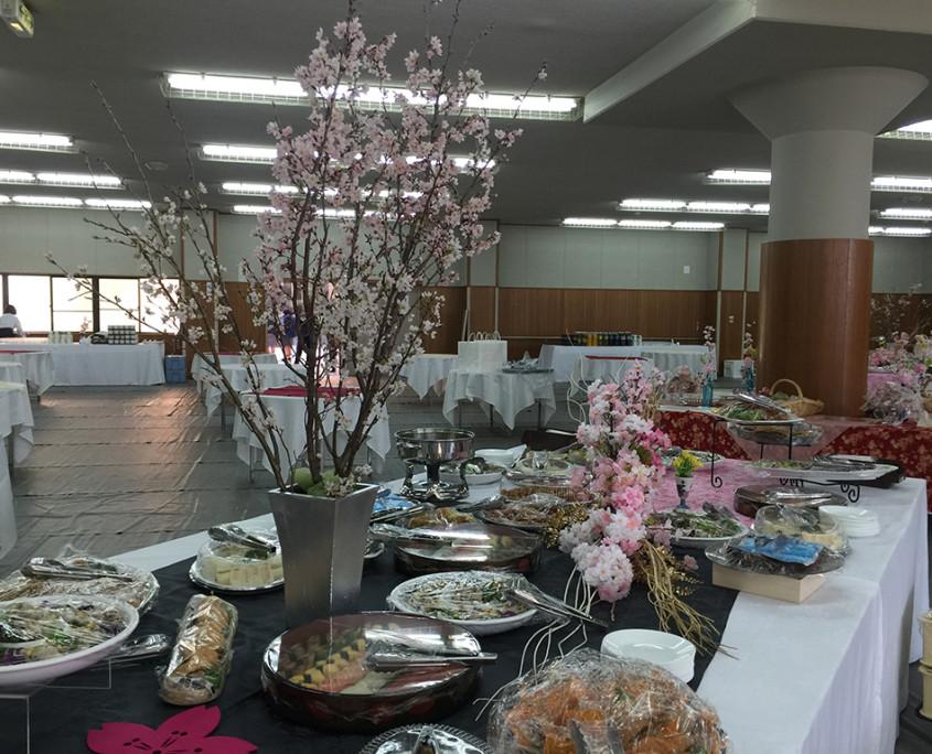 卒業祝賀会・同窓会歓迎会パーティー料理