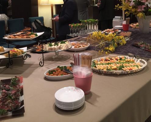 懇話会用のパーティー料理