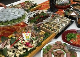 シンポジウム祝賀会パーティー料理のお届け