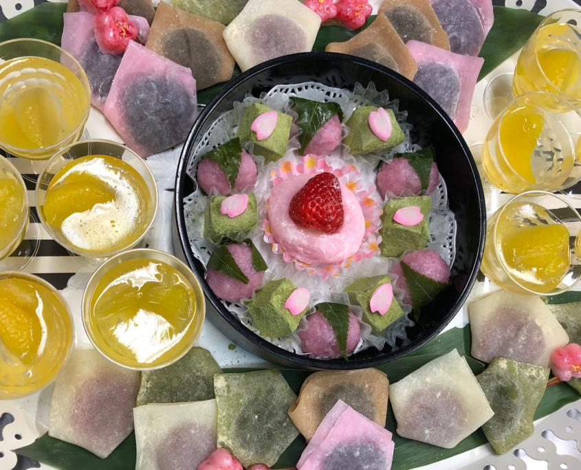 国際シンポジウム懇談会用パーティー料理のお届け