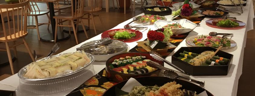 公式庭球部創部67周年記念会用パーティー料理のお届け