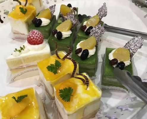 長岡京市バレイ教室 創立45周年祝賀会用お弁当とパーティー料理のお届け
