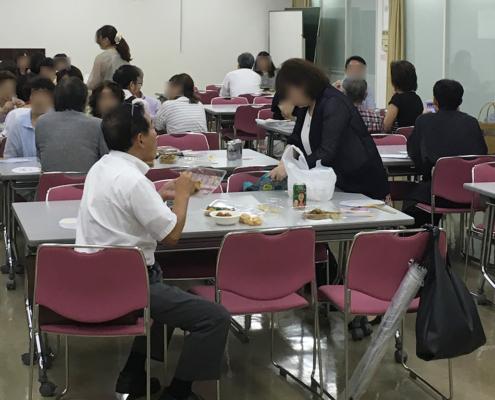 五山の送り火鑑賞会用パーティー料理のお届け