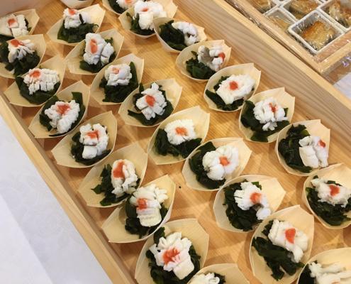 第70回中小企業団体全国大会『感謝の夕べ』用パーティー料理のお届け