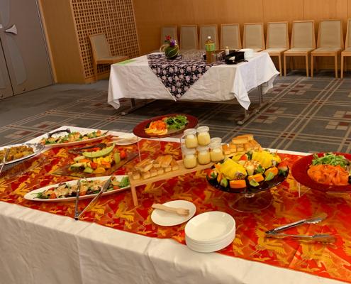 大学教育後援会 懇親会用パーティー料理のお届け