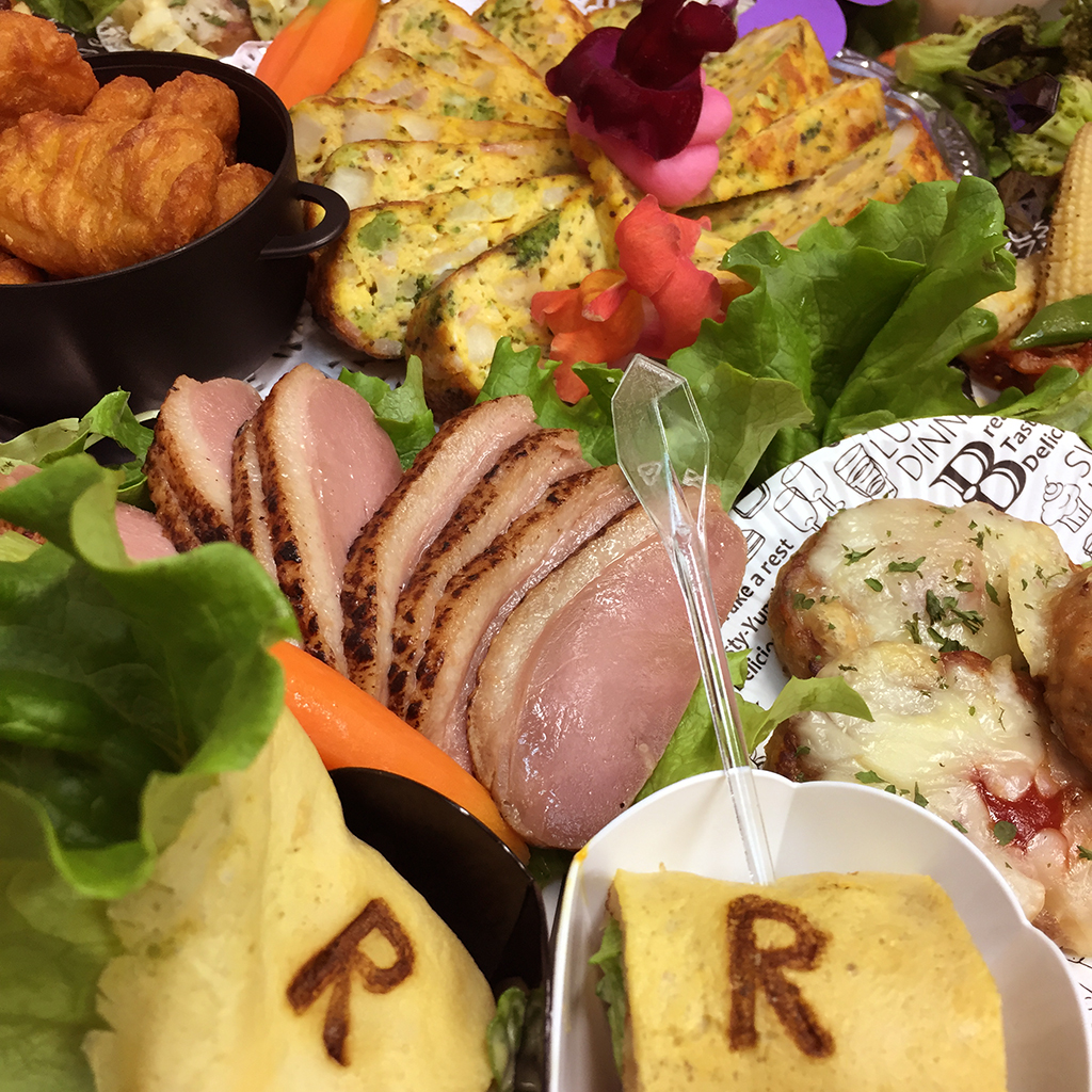 立命館大学 人間科学研究所 年次総会用パーティー料理のお届け