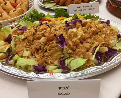 立命館大学 春季課程博士学位授与式用パーティー料理のお届け