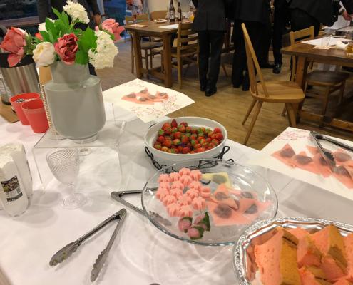 大手企業様営業部の懇親会用パーティー料理・お弁当のお届け