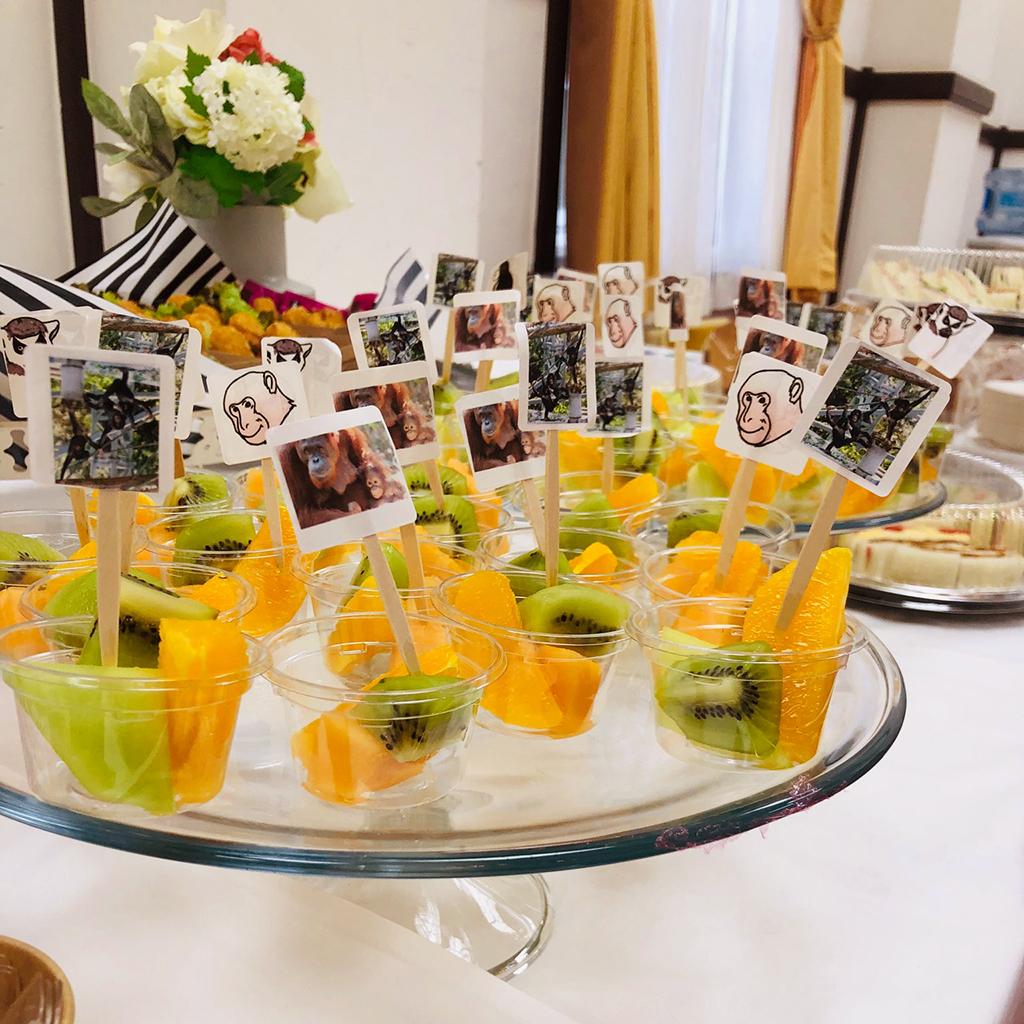 第14回国際環境エンリッチメント会議用パーティー料理・ドリンクのお届け