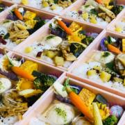 チベット仏教リトリート用お弁当のお届け