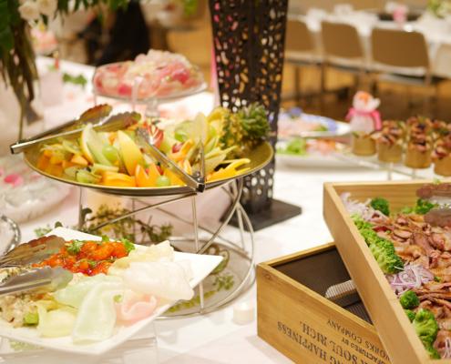 専修学校にてロンドンから講師を招いてのセッション・スペシャルイベント用パーティー料理のお届け