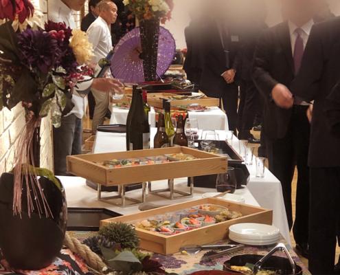 京大感謝の集い用パーティー料理のお届け