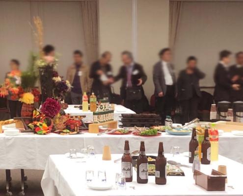 日本法哲学会懇親会用パーティー料理のお届け