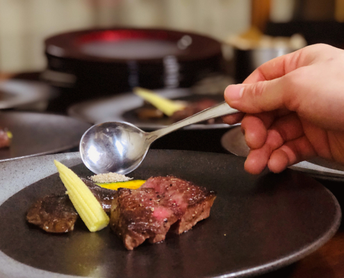 新年会用コース料理のお届け