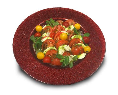 トマトとモッツァレラチーズの盛り合わせ